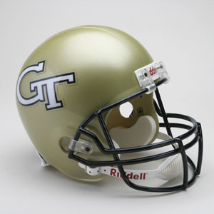 Georgia Tech Full Size Replica Riddell Helmet
